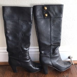 825ce57afc7d Kate Spade Black leather boots